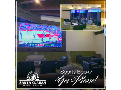 The Sports Book Bar at Santa Claran