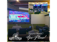 The Sports Book Bar at Santa Claran